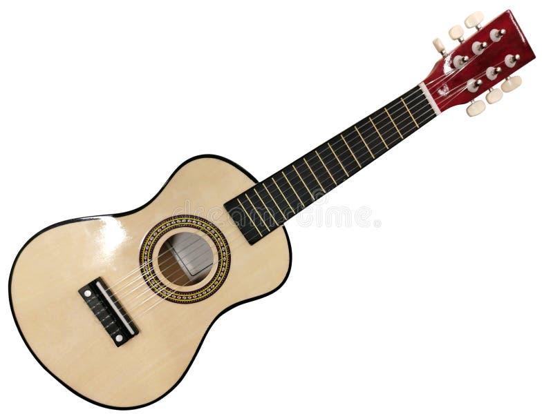 Kleine zes-koord gitaar royalty-vrije stock afbeeldingen
