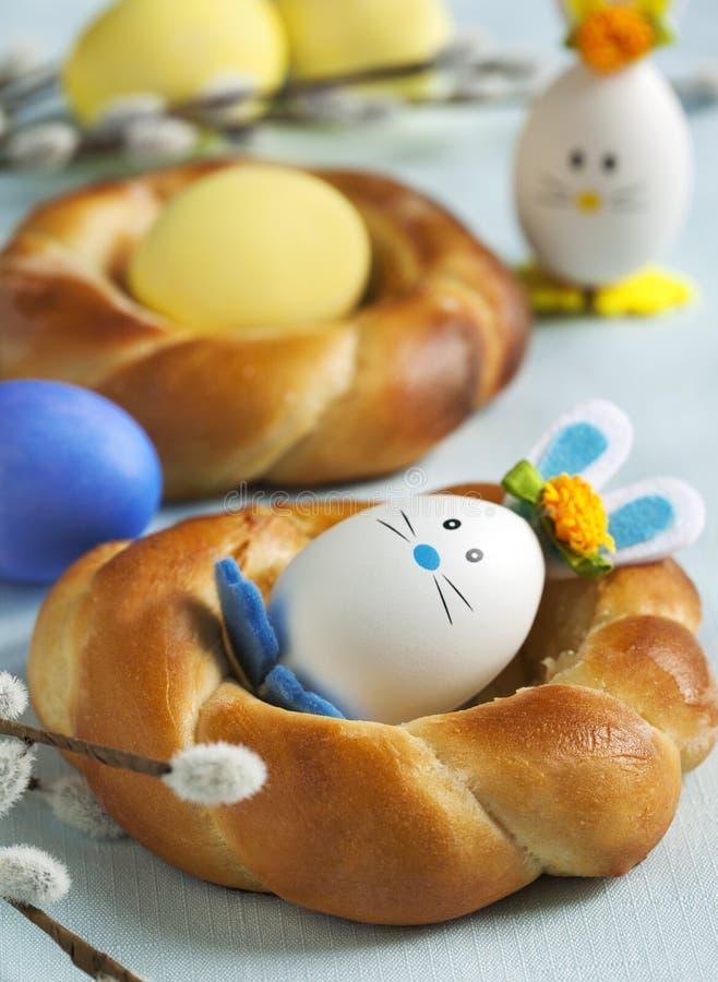Kleine Zoete het Broodkroon van Pasen stock afbeelding