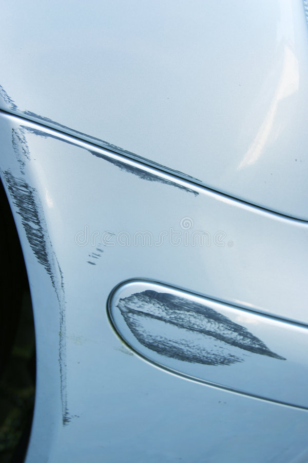 Kleiner Autounfall Lizenzfreie Stockfotografie