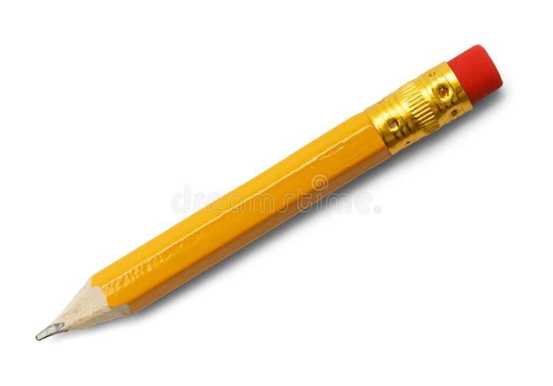 Kleiner Bleistift lizenzfreies stockbild
