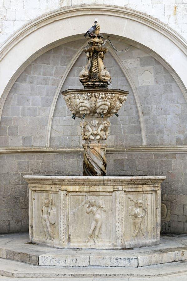 Kleiner Brunnen Onofrio lizenzfreie stockfotografie