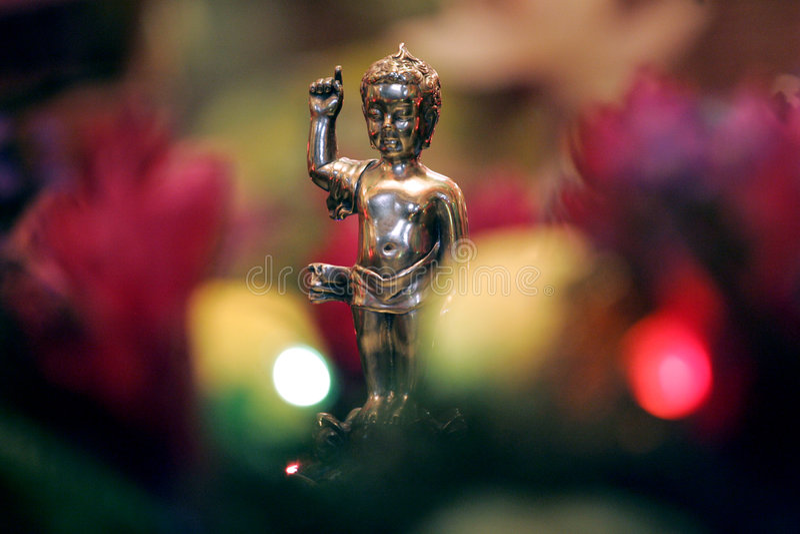 Kleiner Buddha. lizenzfreie stockfotos