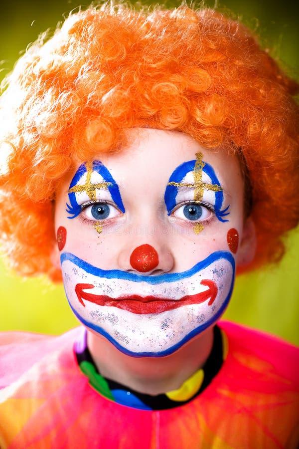 Kleiner Clown stockfotos