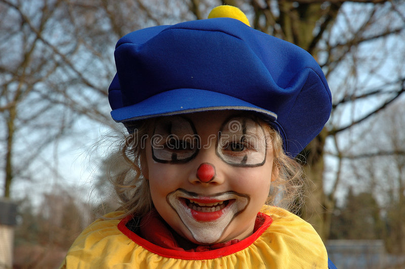 Kleiner Clown lizenzfreie stockfotos