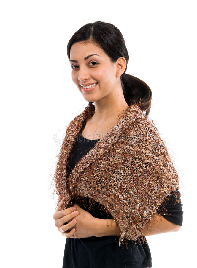 Kleiner Couture-Schal lizenzfreie stockfotografie