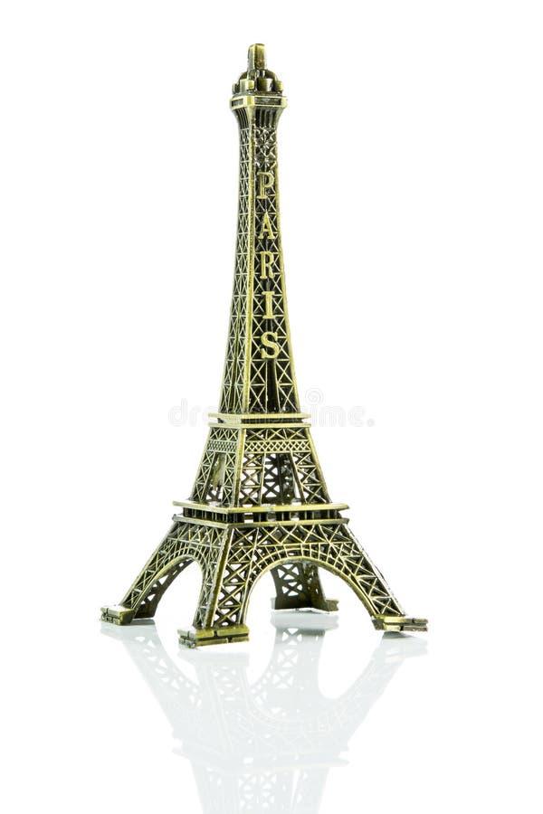 Kleiner Eiffelturm lokalisiert stockfotografie
