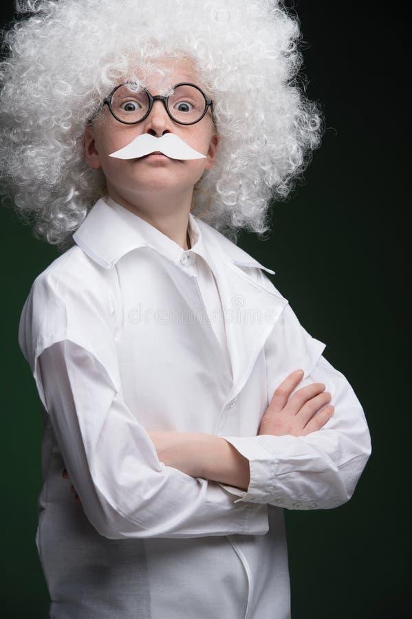 Kleiner Einstein. lizenzfreie stockfotos