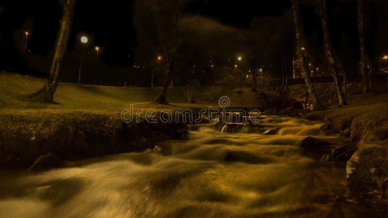 Kleiner Fluss stockbilder