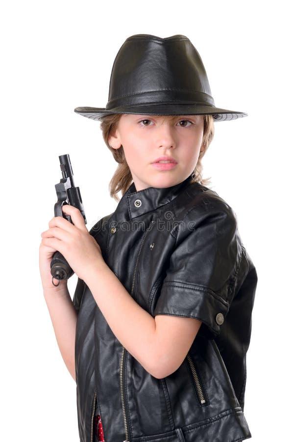 Kleiner Geheimagent stockbilder