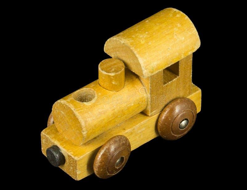 Kleiner Holzzugmotor lizenzfreies stockfoto