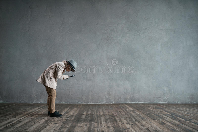 Kleiner Inspektor stockfotografie
