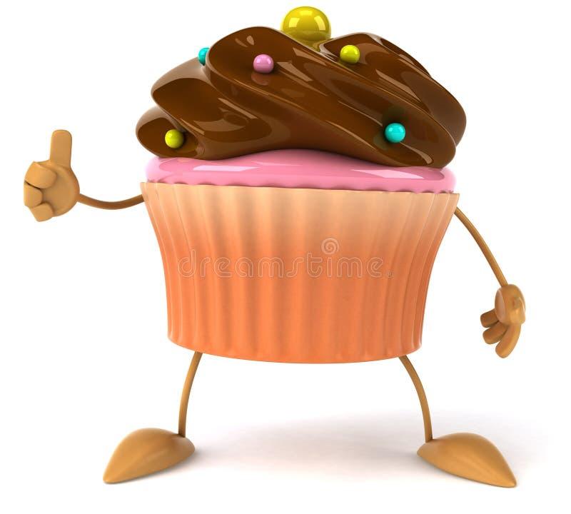 Kleiner Kuchen vektor abbildung