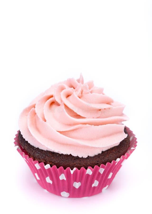Kleiner Kuchen auf Weiß lizenzfreie stockfotos