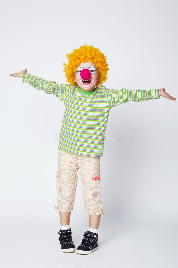 Kleiner lustiger Clown lizenzfreies stockbild