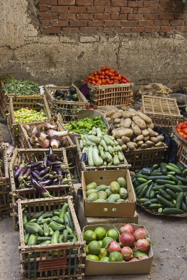 Kleiner Markt der Gemüsestraße lizenzfreie stockfotos