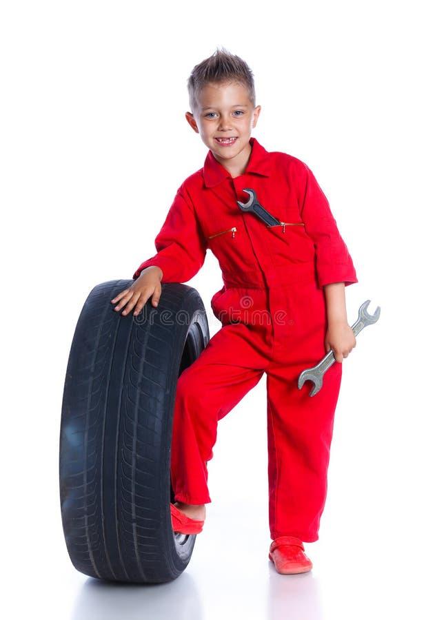Kleiner Mechaniker stockbilder