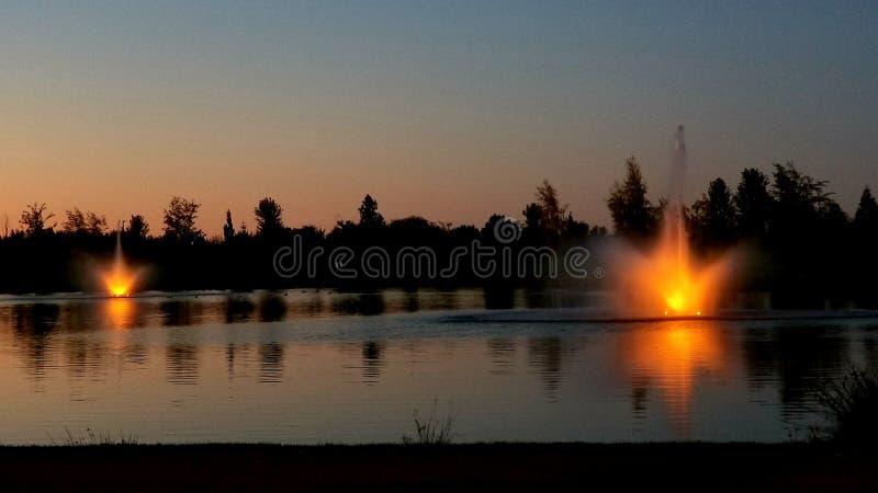 Kleiner parkerar, meridianen, Idaho royaltyfria foton