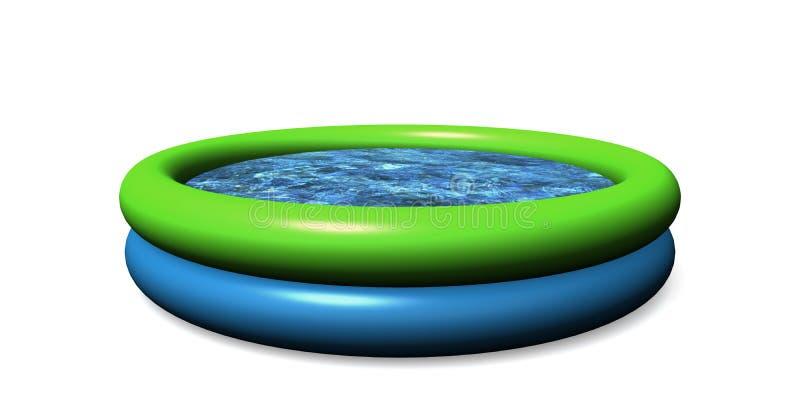 Kleiner-Pool lizenzfreie abbildung