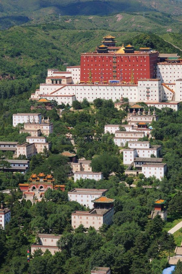 Kleiner Potala Palast in Chengde stockfotografie