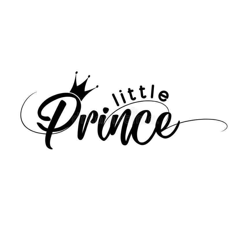 Kleiner Prinz - Vector Illustration kleinen Prinzen lizenzfreie abbildung