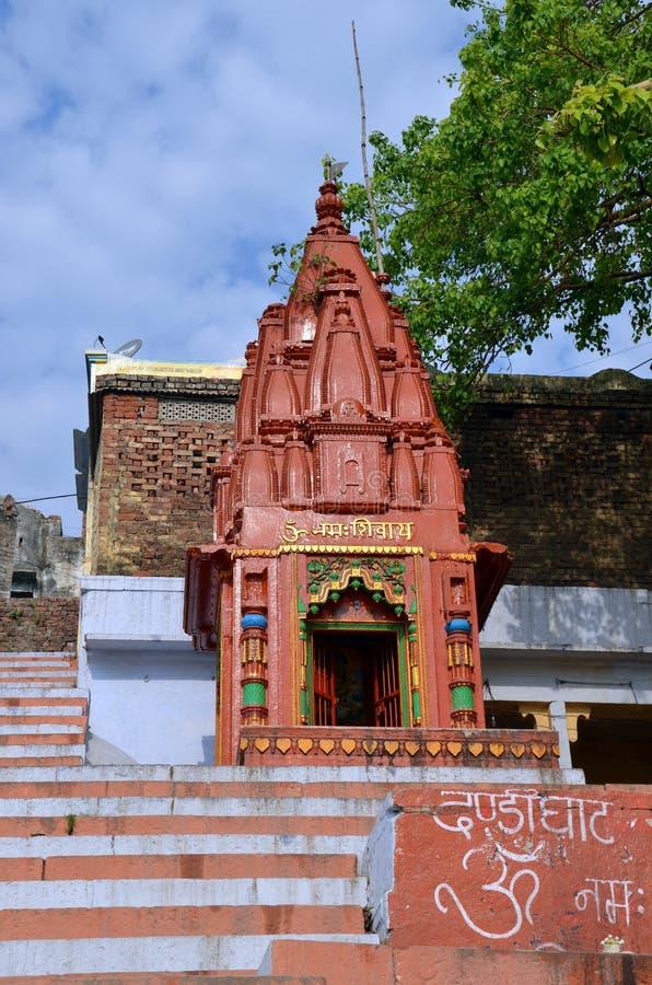 Kleiner shiva Tempel stockbilder