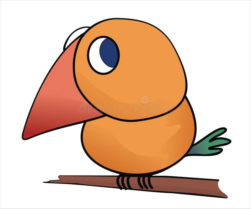Kleiner Vogel lizenzfreie abbildung