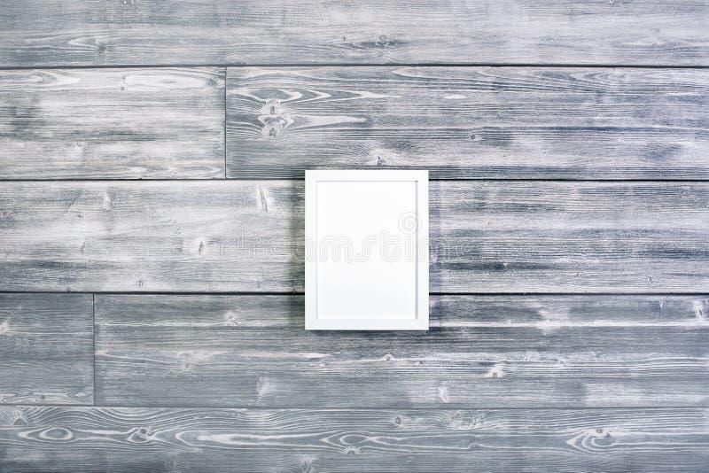 Kleiner weißer Rahmen stockbild