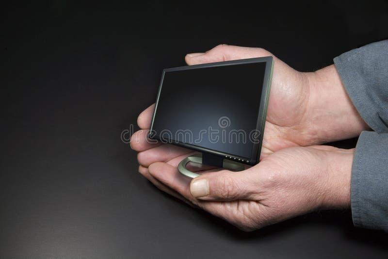 Kleines Überwachungsgerät stockfoto