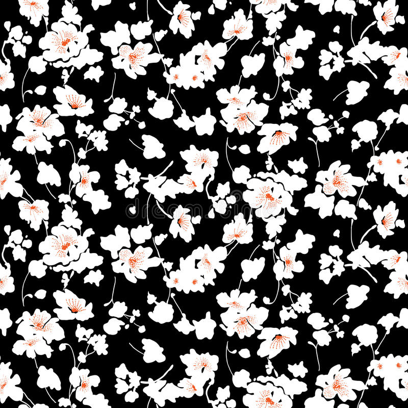 Kleines Blumenmuster 008 lizenzfreie stockbilder