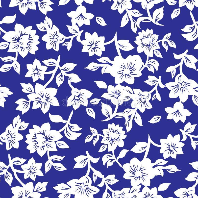 Kleines Blumenmuster 019 vektor abbildung