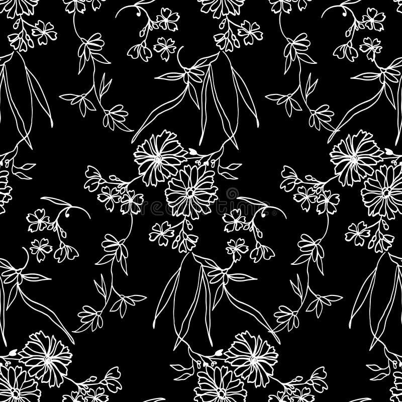 Kleines Blumenmuster 092 lizenzfreies stockbild