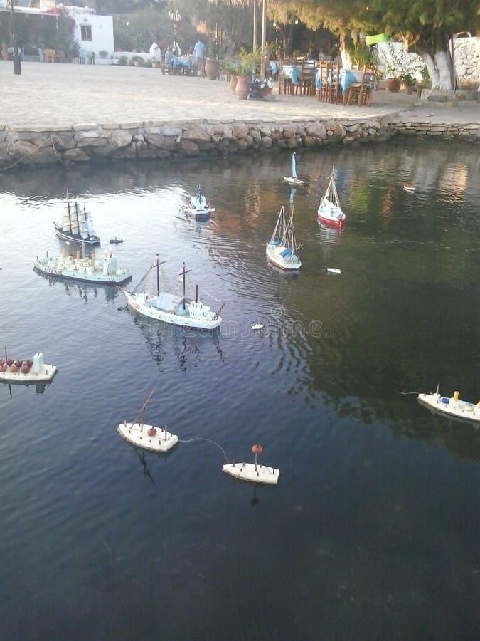 Kleines Boot stockbilder