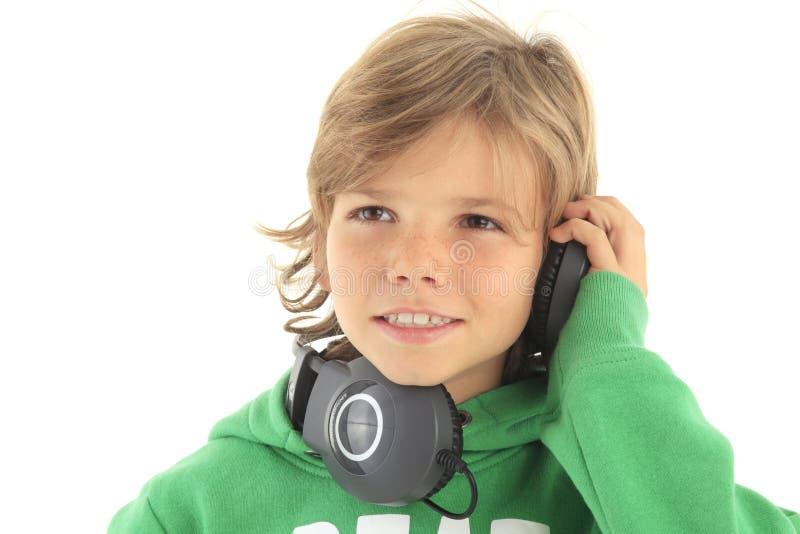 Kleines DJ lizenzfreies stockfoto