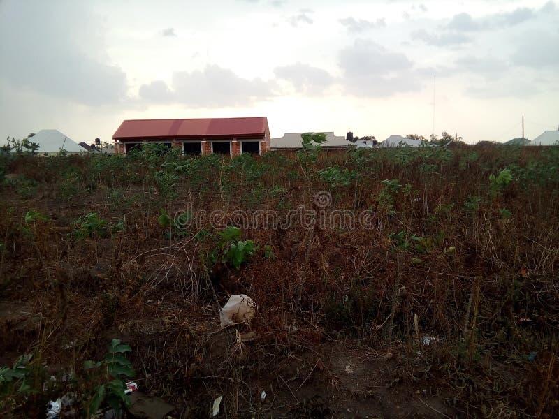 Kleines Einkaufszentrum im Plan in Abuja, Nigeria lizenzfreie stockfotografie