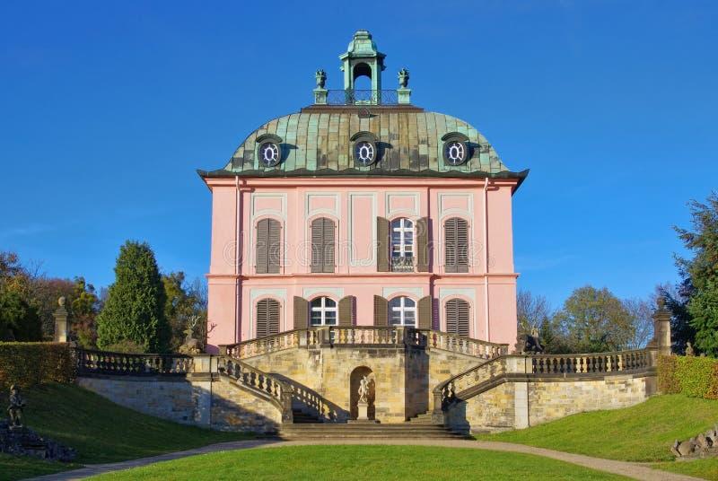 Kleines Fasan-Schloss Moritzburg lizenzfreie stockbilder
