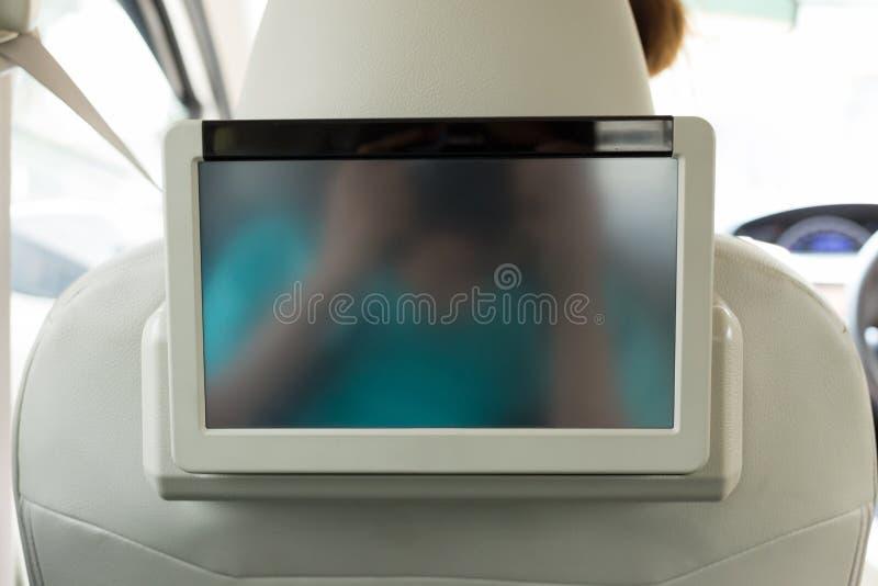 Kleines Fernsehen führte tragbaren Innenraum lizenzfreie stockfotos