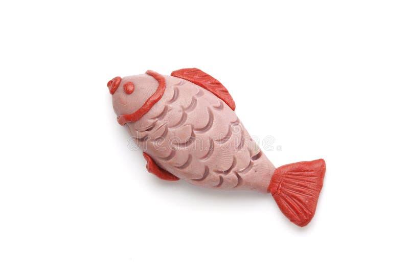 Kleines Fischmodell stockbilder