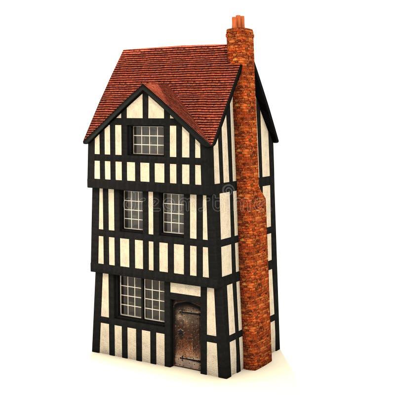 Kleines Haus 3D lizenzfreie abbildung