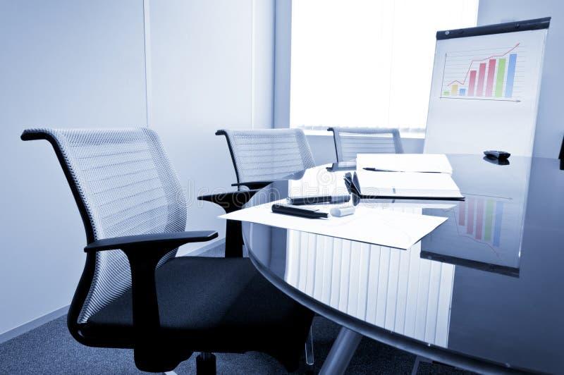 Kleines Konferenzzimmer lizenzfreie stockfotos