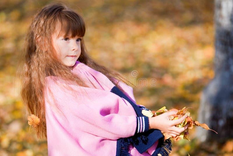 Kleines Mädchen. stockbild