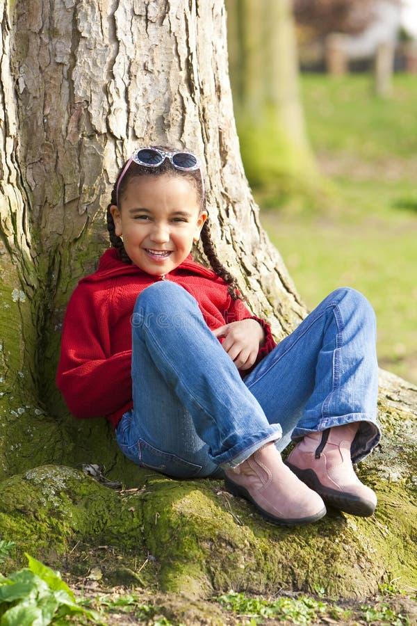 Kleines Mädchen, Das Spaß Hat Lizenzfreies Stockbild