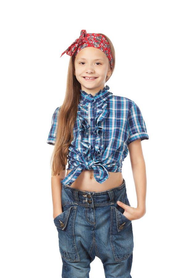 Kleines Mädchen der Mode lizenzfreie stockfotografie