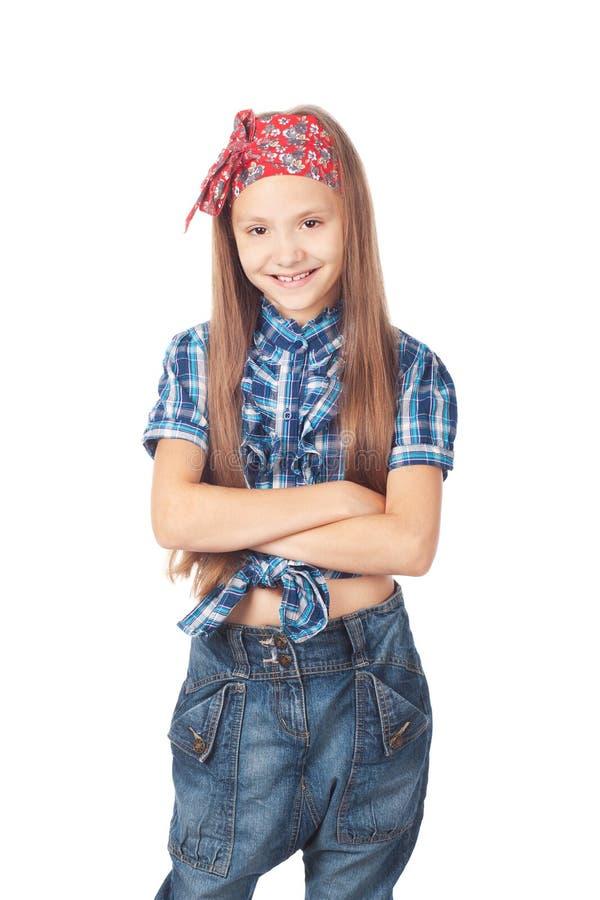 Kleines Mädchen der Mode stockfotografie