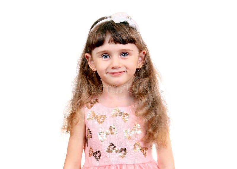 Kleines Mädchen-Portrait stockbilder