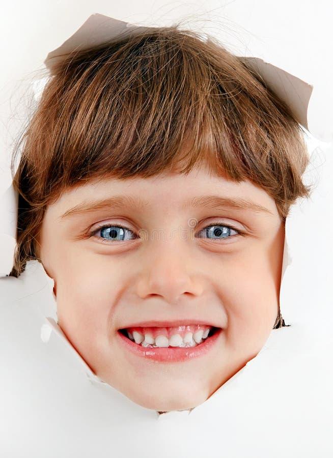 Kleines Mädchen-Portrait lizenzfreies stockbild