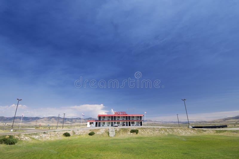 Kleines Motel stockbild