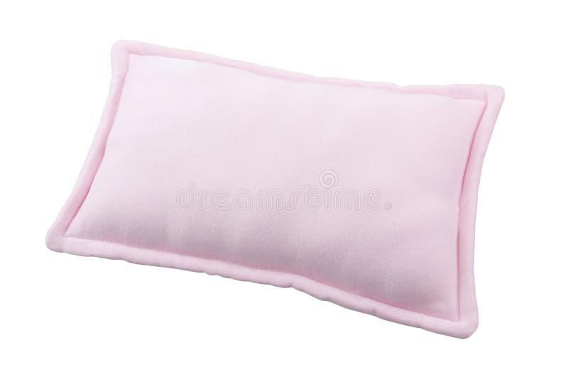 Kleines rosafarbenes Kissen stockfotos