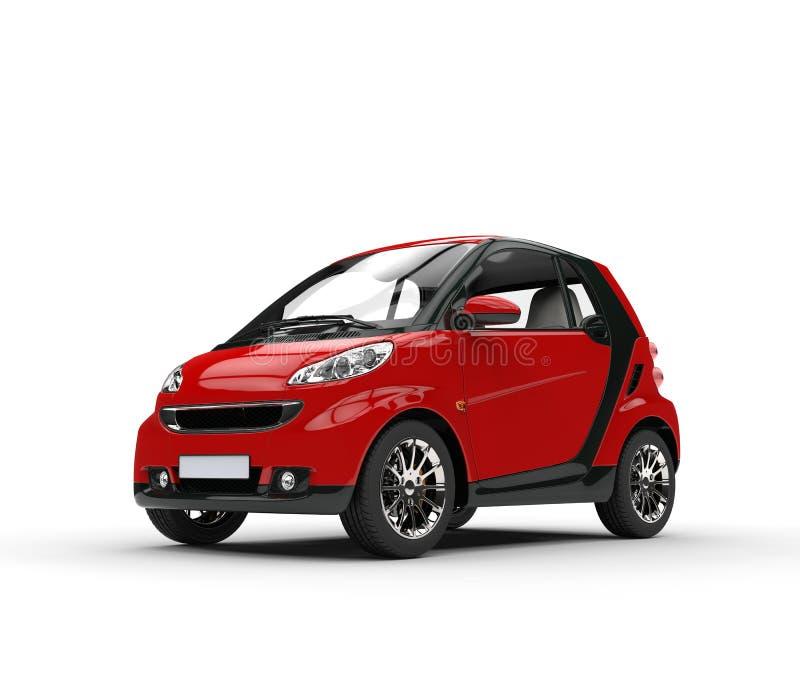 Kleines rotes Auto stockfoto. Bild von prestige, motor - 59004262