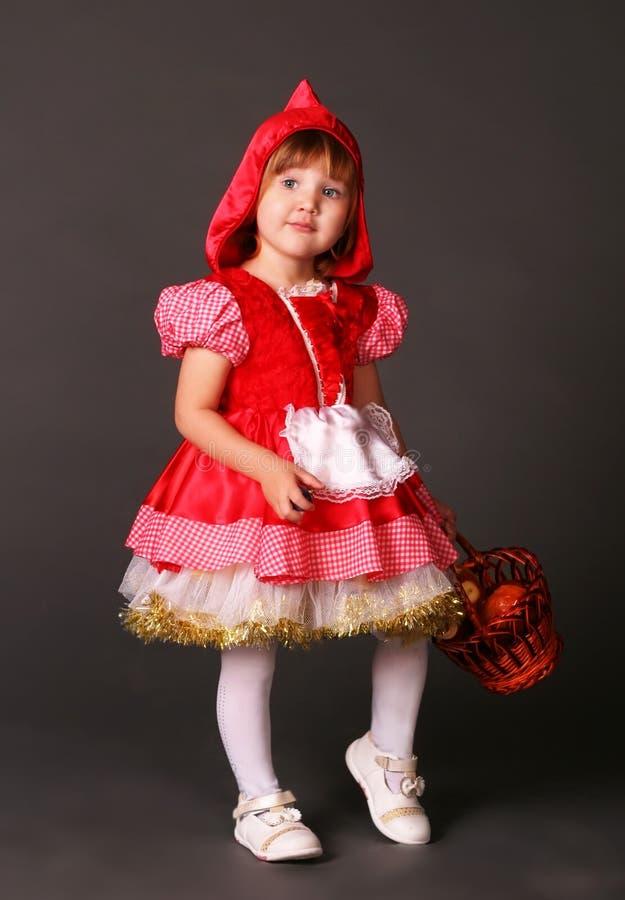 Kleines Rotkäppchen stockfoto