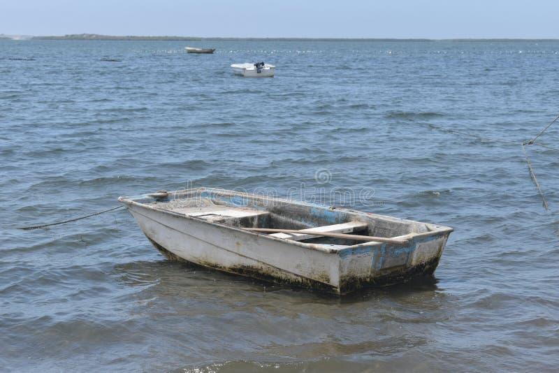 Kleines Ruderboot lizenzfreies stockbild